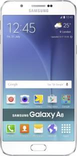 Flipkart offers on Mobiles - SAMSUNG Galaxy A8 (White, 32 GB)(2 GB RAM)