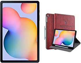 Amazon offers on Mobiles - Samsung Galaxy Tab S6 Lite (10.4 inch, RAM 4 GB, ROM 64 GB, Wi-Fi-only), Oxford Grey + Cover