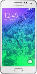 Flipkart offers on Mobiles - SAMSUNG Galaxy Alpha (Dazzling White, 32 GB) 2 GB RAM