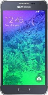 Flipkart offers on Mobiles - SAMSUNG Galaxy Alpha (Charcoal Black, 32 GB) 2 GB RAM