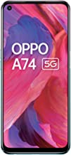 Amazon offers on Mobiles - OPPO A74 5G (Fantastic Purple, 6GB RAM, 128GB Storage)| 5000 mAh | 18W Fast Charge | 90Hz Super Amoled Display