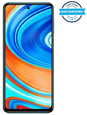 Paytmmall offers on Mobiles - Used Xiaomi Redmi Note 9 Pro Max 6 GB 64 GB Aurora Blue (Grade: Good)