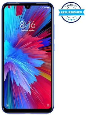 Paytmmall offers on Mobiles - Used XIAOMI REDMI NOTE 7 3GB 32GB Blue (Grade: Good)