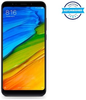 Paytmmall offers on Mobiles - Used Xiaomi Redmi Note 5 4GB 64GB Black (Grade: Good)