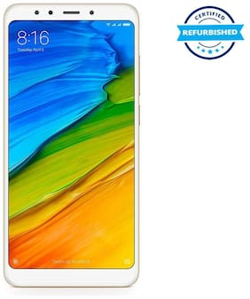 Paytmmall offers on Mobiles - Used Xiaomi Redmi 5 3GB 32GB Gold (Grade: Good)