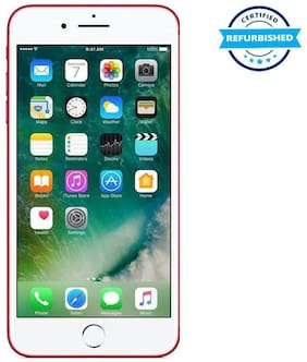 Paytmmall offers on Mobiles - Used Apple iPhone 7 plus 3GB 128GB Red (Grade: Excellent)