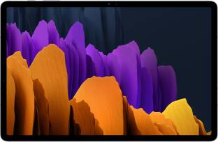Flipkart offers on Mobiles - SAMSUNG Galaxy Tab S7 (LTE) 6 GB RAM 128 GB ROM 11 inch with Wi-Fi+4G Tablet (Mystic Silver)