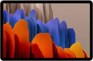 Flipkart offers on Mobiles - SAMSUNG Galaxy Tab S7+ 6 GB RAM 128 GB ROM 12.4 inch with Wi-Fi+4G Tablet (Mystic Bronze)