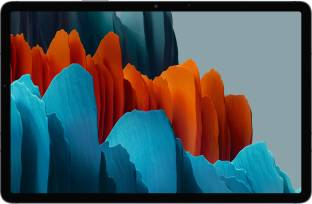 Flipkart offers on Mobiles - SAMSUNG Galaxy Tab S7+ 6 GB RAM 128 GB ROM 12.4 inch with Wi-Fi+4G Tablet (Mystic Black)