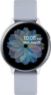 Flipkart offers on Mobiles - SAMSUNG Galaxy Watch Active 2 Aluminium Smartwatch Grey Strap, Regular