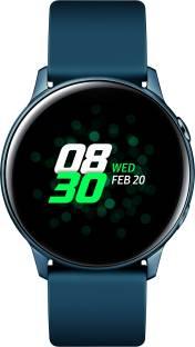 Flipkart offers on Mobiles - SAMSUNG Galaxy Watch Active Smartwatch Blue Strap, Regular