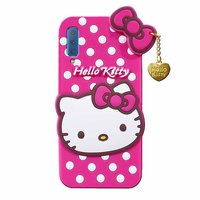 Shopclues offers on Mobiles - Samsung Galaxy A7 2018 Hello Kitty Silicon Rubber Bumper Back