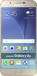 Flipkart offers on Mobiles - SAMSUNG Galaxy A8 (Gold, 32 GB) 2 GB RAM