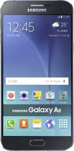 Flipkart offers on Mobiles - SAMSUNG Galaxy A8 (Black, 32 GB) 2 GB RAM