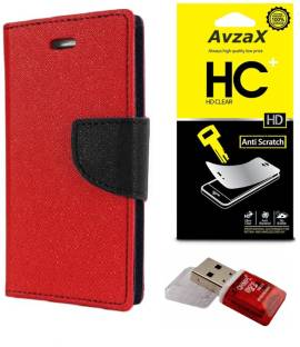 Flipkart offers on Mobiles - Avzax Cover Accessory Combo for Samsung Galaxy Star Pro S7260 Red