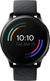 Flipkart offers on Mobiles - OnePlus Watch Black Strap, Regular