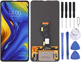 Amazon offers on Mobiles - Cell Phone Repair LCD Screen Original AMOLED Material LCD Screen and Digitizer Full Assembly for Xiaomi Mi Mix 3 Mobile Displays