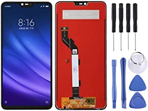 Amazon offers on Mobiles - Cell Phone Repair LCD Screen LCD Screen and Digitizer Full Assembly for Xiaomi Mi 8 Lite Mobile Displays