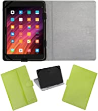 Amazon offers on Mobiles - Acm Leather Flip Flap Case Compatible with Xiaomi Mi Pad 3 Tablet Cover Stand Green