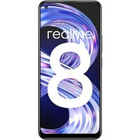 Shopclues offers on Mobiles - Realme 8 6GB RAM 128 GB ROM Cyber Silver 5000mAh Battery 6.4 Display