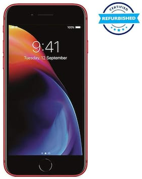 Paytmmall offers on Mobiles - Used Apple Iphone 8 2GB 64GB Red (Grade: Excellent)