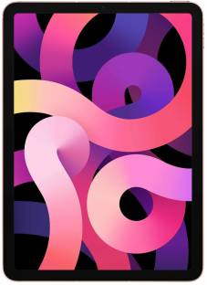 Flipkart offers on Mobiles - APPLE iPad Air (4th Gen) 64 GB ROM 10.9 inch with Wi-Fi+4G (Rose Gold)
