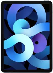 Flipkart offers on Mobiles - APPLE iPad Air (4th Gen) 64 GB ROM 10.9 inch with Wi-Fi Only (Sky Blue)