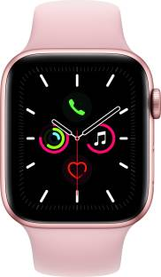 Flipkart offers on Mobiles - APPLE Watch Series 5 GPS + Cellular 44 mm Gold Aluminium Case with Pink Sand Sport Band Pink Strap, Regular