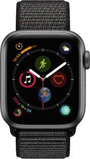 Flipkart offers on Mobiles - APPLE Watch Series 4 GPS 40 mm Space Grey Aluminium Case with Black Sport Loop Black Strap, Regular