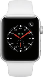 Flipkart offers on Mobiles - APPLE Watch Series 3 GPS + Cellular 42 mm Aluminium Case White Strap, Regular