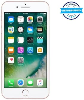 Paytmmall offers on Mobiles - Used Apple iPhone 7 plus 3GB 128GB Rose Gold (Grade: Excellent)