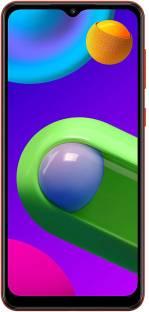 Flipkart offers on Mobiles - SAMSUNG Galaxy M02 (Red, 32 GB) 3 GB RAM