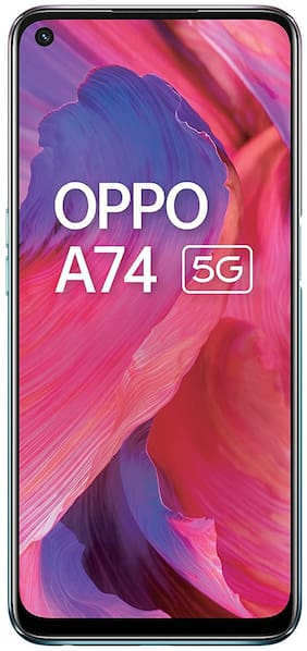 Paytmmall offers on Mobiles - OPPO A74 5G 6 GB 128 GB Fantastic Purple