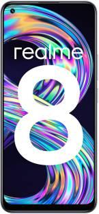 Flipkart offers on Mobiles - realme 8 (Cyber Silver, 128 GB) 6 GB RAM