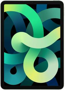 Flipkart offers on Mobiles - APPLE iPad Air (4th Gen) 256 GB ROM 10.9 inch with Wi-Fi+4G (Green)