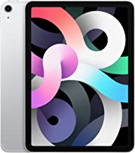 Amazon offers on Mobiles - 2020 Apple iPad Air with A14 Bionic chip (10.9-inch/27.69 cm, Wi-Fi + Cellular, 256GB) - Silver (4th Generation)