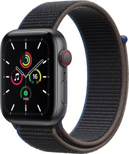 Flipkart offers on Mobiles - APPLE Watch SE GPS + Cellular 44 mm Space Grey Aluminium Case with Charcoal Sport Loop Charcoal Strap, Regular