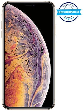 Paytmmall offers on Mobiles - Used Apple iPhone XS Max 4GB 256GB Gold (Grade: Excellent)