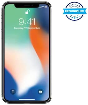 Paytmmall offers on Mobiles - Used Apple iPhone X 3GB 64GB Silver (Grade: Excellent)