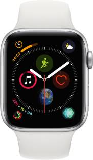Flipkart offers on Mobiles - APPLE Watch Series 4 GPS 44 mm Silver Aluminium Case with White Sport Band White Strap, Regular