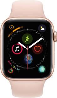 Flipkart offers on Mobiles - APPLE Watch Series 4 GPS 44 mm Gold Aluminium Case with Pink Sand Sport Band Pink Strap, Regular