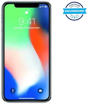 Paytmmall offers on Mobiles - Used Apple iPhone X 3GB 256GB Silver (Grade: Excellent)