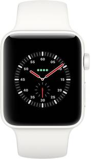 Flipkart offers on Mobiles - APPLE Watch Edition Series 3 GPS + Cellular- 42 mm White Ceramic Case with Sport Band White Strap, Regular