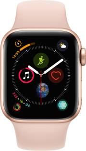Flipkart offers on Mobiles - APPLE Watch Series 4 GPS 40 mm Gold Aluminium Case with Pink Sand Sport Band Pink Strap, Regular