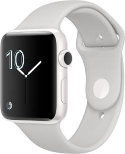 Flipkart offers on Mobiles - APPLE Watch Edition 42 mm White Ceramic Case with Cloud Sport Band White Strap, Medium