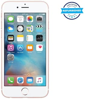 Paytmmall offers on Mobiles - Used Apple Iphone 6s 2GB 32GB Rose Gold (Grade: Excellent)