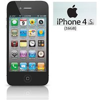 Shopclues offers on Mobiles - Apple iPhone 4S 16GB / Good Condition/ Certified Pre Owned (1 Year Warranty)