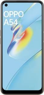 Flipkart offers on Mobiles - OPPO A54 (Moonlight Gold, 128 GB) 6 GB RAM