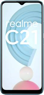 Flipkart offers on Mobiles - realme C21 (Cross Blue, 64 GB) 4 GB RAM