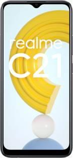 Flipkart offers on Mobiles - realme C21 (Cross Black, 64 GB) 4 GB RAM